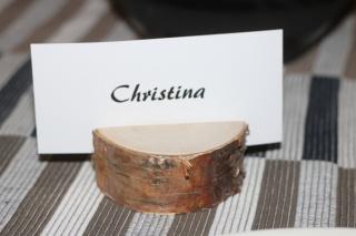 Platzhalter ♥  Namenshalter ideal für Namenskarten & Tischkarten ♥  Hochzeitsdeko ♥ Tischdeko ♥  Weihnachtsdeko
