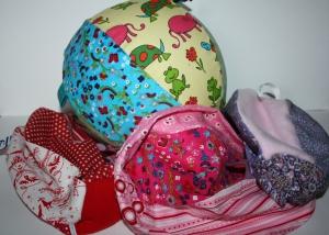 Luftballonhüllen, verschiene Farben, tolles Spielzeug für Baby, auch unterwegs