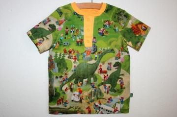Cooles Shirt Wimmelbuch Spielplatz Gr. 80, tannengrün und viele andere Farben