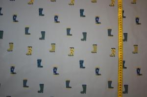 Witziger Softshell Gummistiefel, hellgraugrundig, 0.50m