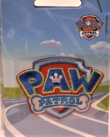 Niedlicher Aufnäher, Abzeichen,  PAW PATROL, niedliche Polizeihunde, sehr beliebt bei den Kids, Original