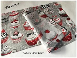 Tischsets / Platzsets - Geschenketipp *CUP CAKE*