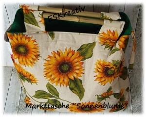 Geräumige Markttasche / Shopper / Einkaufstasche