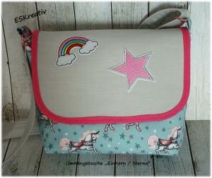 Umhängetasche / Kindergartentasche / Kindertasche für Mädchen