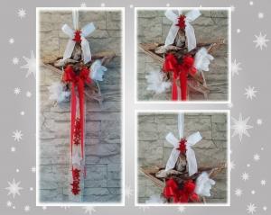 Weihnachtliche Tür- / Wanddekoration *Treibholzstern*