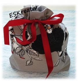 Geschenkesack / Geschenkebeutel *BAUMWICHTEL*
