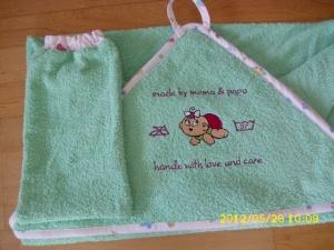 Baby-Handtuchset