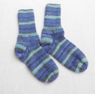 Socken Gr. 37, handgestrickt