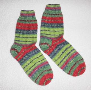 Socken Gr. 38, handgestrickt
