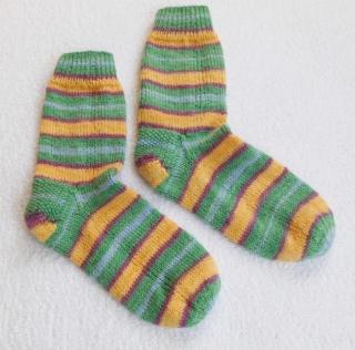 Socken Gr. 39, handgestrickt