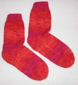 Socken Gr. 39, handgetrickt