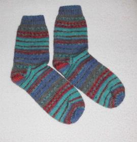 Socken Gr. 41, handgestrickt