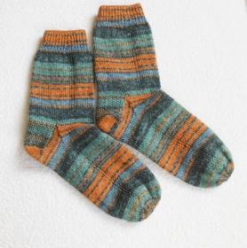 Socken Gr. 43/44, handgestrickt