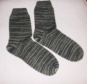 Socken Gr. 43/44, handgestrickt - Handarbeit kaufen