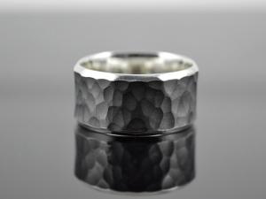 Ring ★Concave geschwärzt★aus 925er Silber