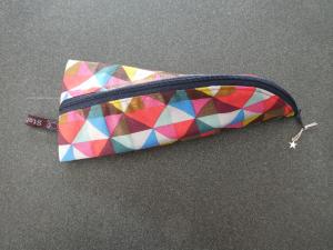 Handgearbeitetes Stifteetui,Stiftemäppchen,Kosmetiktäschchen in ausgefallener Optik   - Handarbeit kaufen