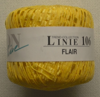 Leitergarn FLAIR 115 gelb