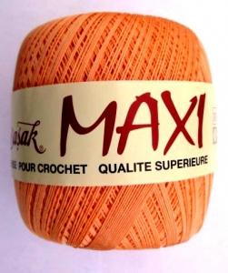 Häkelgarn Maxi 100gr Stärke 10 lachs - Handarbeit kaufen