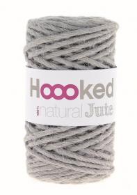 Jutegarn fair trade Garn von Hoooked gray - Handarbeit kaufen