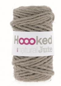 Jutegarn fair trade Garn von Hoooked taupe - Handarbeit kaufen