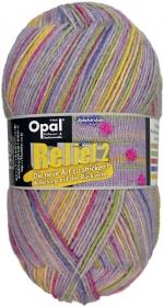 Sockenwolle Opal Relief 2 Fb. 9662 flieder