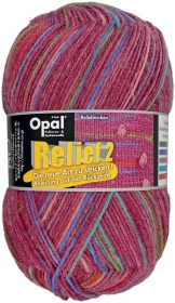 Sockenwolle Opal Relief 2 Fb. 9661 burgund