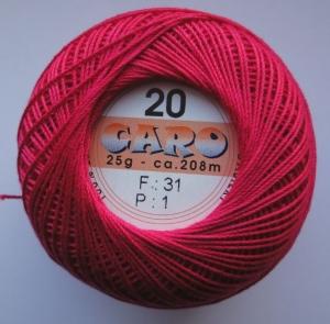Häkelgarn Caro 20 rot 0031 - Handarbeit kaufen