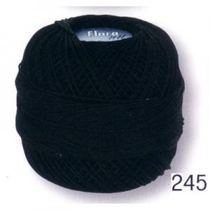 Häkelgarn Caro 20 schwarz 0016