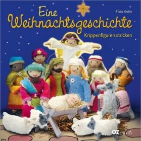 Eine Weihnachtsgeschichte.  Krippenfiguren stricken. - Handarbeit kaufen