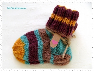 ♥ süße Babysöckchen für Neugeborene