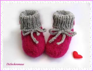 Baby-Filzpuschen ca. 9-15 Monate