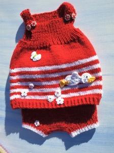 Baby Set Tunika & Hose * Gr.56/62 * Kleiner Überflieger * Handarbeit