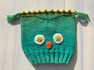 Babymütze * Kleine Eule * KU40 aus Baumwolle  (Kopie id: 100080925)