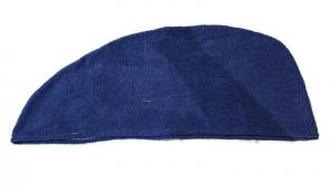 Baumwoll Frottee Handtuch-Turban Haar-Turban blau - Handarbeit kaufen