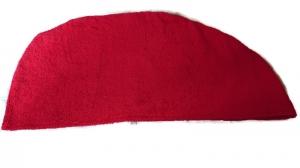 Baumwoll Frottee Handtuch-Turban Haar-Turban rot  - Handarbeit kaufen