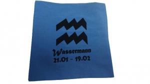 500 g Wärmekissen Dinkel Sternzeichen Wassermann Motiv - Handarbeit kaufen