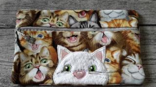 Tasche Katze, für E-Book Reader, Stifte, Diabetikerzubehör und vieles mehr