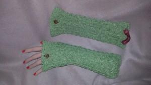 Armstulpen Trachten grün