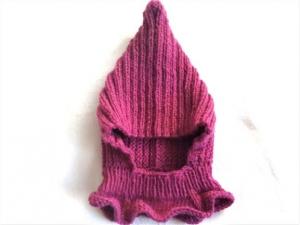 Babymütze, Schlupfmütze, Strickmütze handgestrickt für Neugeborene Mädchen KU 48-50 cm  - Handarbeit kaufen