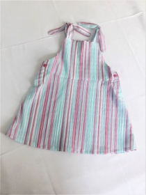Sommerkleid, Trägerrock, Latzrock, Trägerkleid in Pastellfarben, Gr. 98 - Handarbeit kaufen