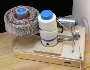 Elektrischer Wollwickler Umbau von Empisal Knäul >300g - Handarbeit kaufen