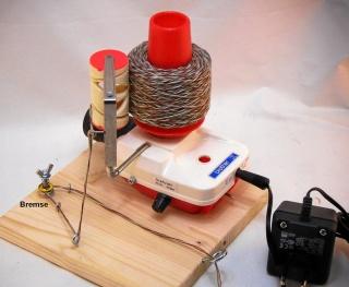 Elektrischer Wollwickler Umbau Brother L1 12V oder 24V