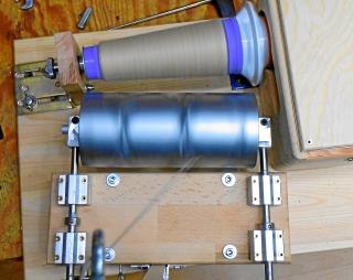 Elektrischer Wickler zum Teilen von Industriekonen bis 3000 U/min
