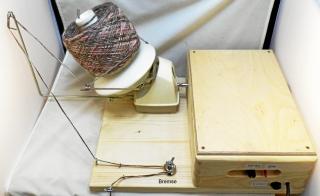 Elektrischer Wollwickler Umbau von Brother L2 Jumbo 500g Konen - Handarbeit kaufen