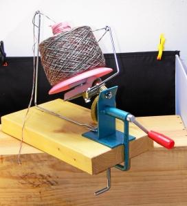 mechanischer Wollwickler Knäul bis 500g