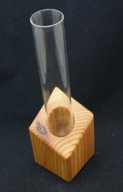 Vase mit Lärchenholz Handarbeit gewachst  (Kopie id: 100148802)