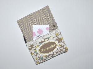 Kalenderhülle - Tasche - Umschlag für Buchkalender