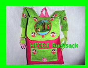 Heidi Kita Kinder Rucksack