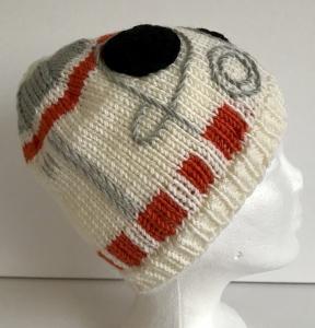 Kinder Mütze BB8 Star Wars Kopfumfang 52 - 54 cm