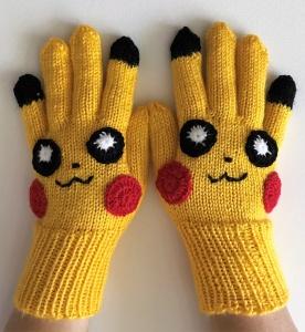 Handschuhe, Fingerlinge für Pokemon Fans Kinder 8 - 12 Jahre